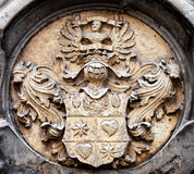 Old coat of arms Royalty Free Stock Photography