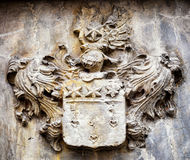 Old coat of arms Stock Images