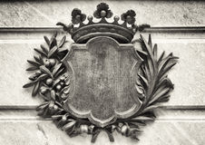 Old coat of arms Royalty Free Stock Image