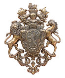 Old coat of arms Royalty Free Stock Images