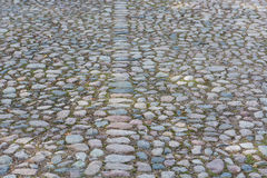 Old cobble stone background Royalty Free Stock Image