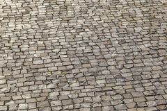 Old cobble stone street Royalty Free Stock Image