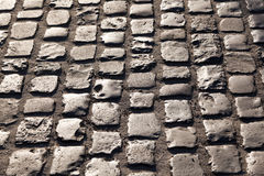 Old cobble stone street Royalty Free Stock Photography