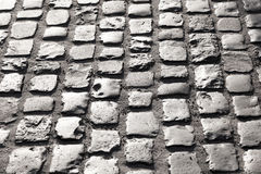 Old cobble stone street Royalty Free Stock Photo