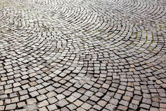 Old cobble stone street Stock Image