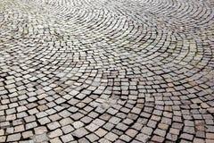 Old cobble stone street Stock Image