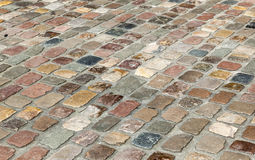 Old cobble stone street Royalty Free Stock Photos