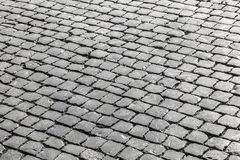 Old cobble stone street Stock Photos