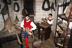 Old cobbler Stock Images