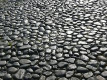 Old Cobbles. Tones glistening against the light Stock Photography