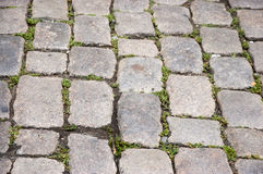 Old cobbles Royalty Free Stock Images