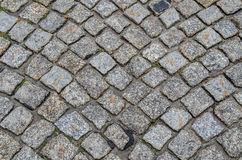 Old cobbles after rain Royalty Free Stock Photo
