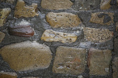 Old cobbles small rock wet path Stock Photography