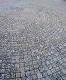 old cobblestone pavement. Royalty Free Stock Photos