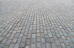 Old cobblestone pavement. Royalty Free Stock Image