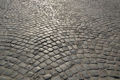 Old cobblestone pavement. Stock Image