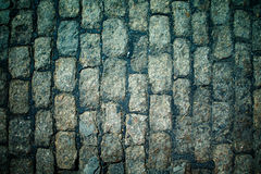 Old Cobblestone raod Stock Photography