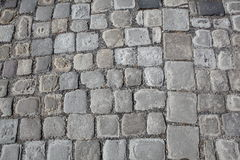 Old cobblestone road Stock Images