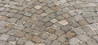 Old Cobblestone Road Background Royalty Free Stock Image