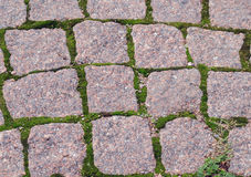 An old cobblestone road Royalty Free Stock Photos