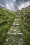 Old Cobblestone Steps Stock Photo