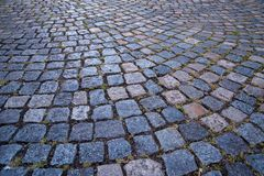 Old cobblestone street Royalty Free Stock Photography