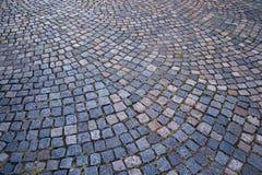 Old cobblestone street Stock Image