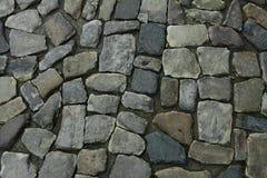 Old cobblestone on the street. Old vintage cobblestone on the street stock images