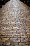 Old Cobblestone Street Stock Photography