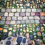 Old cobblestones Stock Image