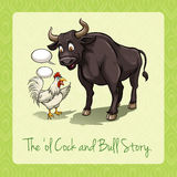 The old cock and bull story Royalty Free Stock Photography