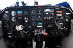 The old cockpit Royalty Free Stock Images