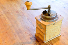 Old coffe grinder Stock Image