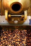 Old coffee beans machine Stock Photography
