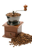 Old coffee grinder. Stock Photos