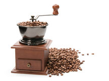 Old coffee grinder. Stock Images
