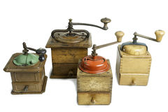 Old Coffee Grinders Royalty Free Stock Photos