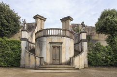 The Old Coffee House. Built in 1775 at Boboli Gardens in Florence Stock Photos