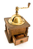 Old coffee mill Stock Photo