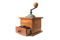 Old coffee mill Stock Photos