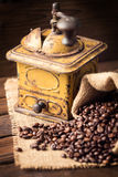 Old coffee mill Royalty Free Stock Images