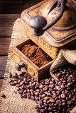 Old coffee mill Royalty Free Stock Image