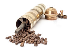 Old coffee mill Royalty Free Stock Photos