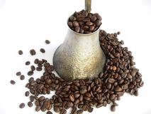 Old Coffee Pot Stock Image