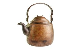Old coffee pot Royalty Free Stock Image