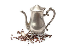 Old coffee pot Royalty Free Stock Photography
