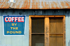 Old Coffee Shop Royalty Free Stock Photography