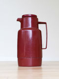 Old coffee tumbler (Thermo bottle) Royalty Free Stock Photography