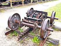 Old cog train gear part Stock Images