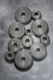 Old Cogs Stock Photo